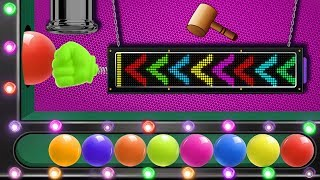 Xylophone Hit Game Arcade With Color Balls For Children HooplaKidz EP07