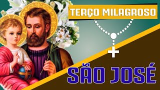 TERÇO MILAGROSO DE SÃO JOSÉ