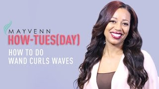 Simple Loose Waves: How To Wand Curl Hair