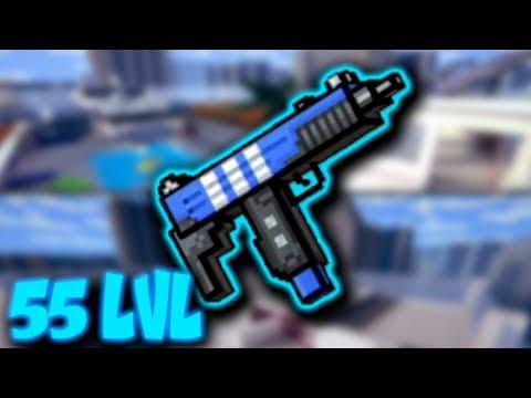 55 lvl Social Uzi - Pixel Gun 3D