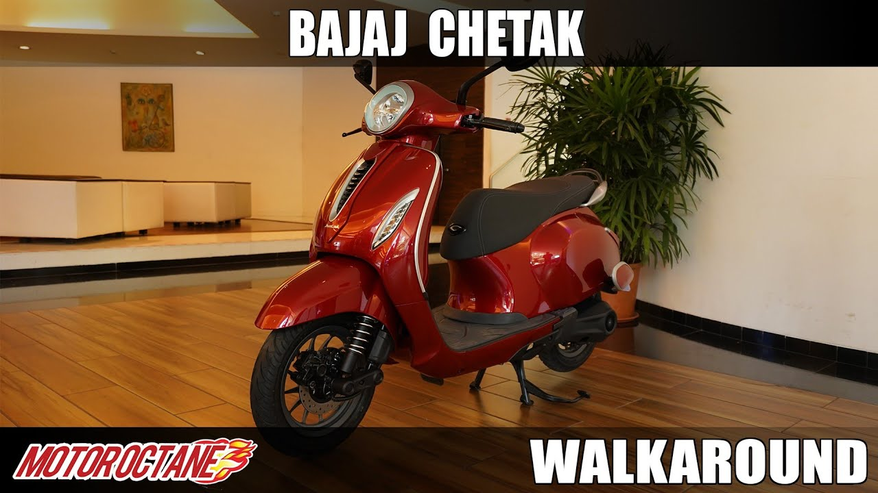 Motoroctane Youtube Video - Bajaj Chetak Detailed Walkaround | Hindi | MotorOctane