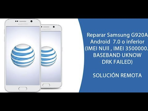 Repair imei samsung G920A G925A G928A N920A 6 0 1 PF1 PG1
