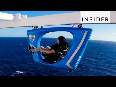 Cycling High Above the Ocean