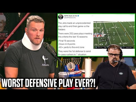 "Pat McAfee Reacts To Jets Firing Gregg Williams After ""Worst Defensive Play Call In History"""