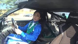 塚本奈々美さん デモラン オンボード映像