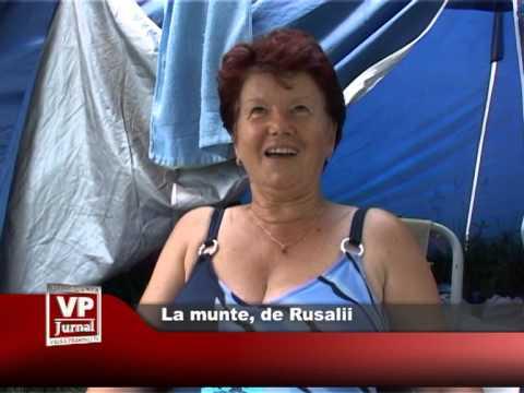 La munte, de Rusalii