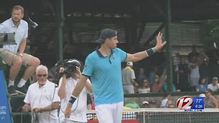 Tennis Hall of Fame preps for their big week in Newport