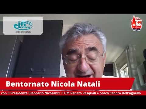 "Bentornato Nicola Natali: le prime parole del ""Sindaco"""
