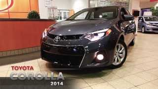 preview picture of video '2014 Toyota Corolla - Spinelli Toyota Lachine'