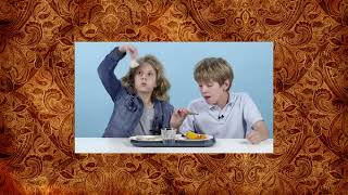 Top Kids Try 100 Years of the Most Expensive Foods