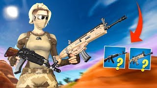 THE BEST ASSAULT RIFLE IN FORTNITE?