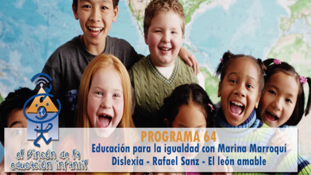 Igualdad en la educación - Dislexia - Preguntas y cuento El león amable (p64)