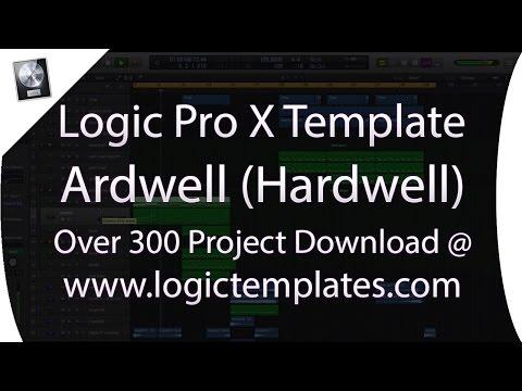 Logic Pro X Midi Construction Template – Ardwell (Big Room EDM Hardwell Style)