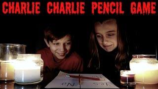 CHARLIE CHARLIE PENCIL GAME CHALLENGE