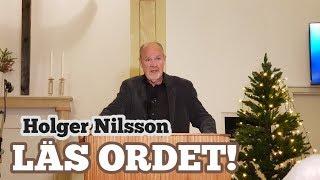 Läs ordet! Holger Nilsson