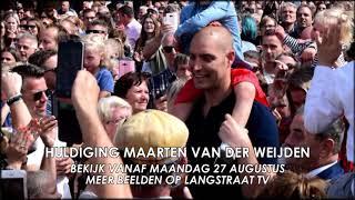 Huldiging Maarten van der Weijden in Waalwijk (Langstraat TV Promo)