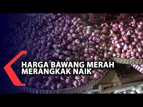 harga bawang merah di semarang merangkak naik