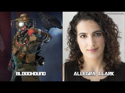 Apex Legends Characters Voice Actors