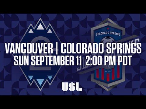 Vancouver Whitecaps 2 - Колорадо Спрингс 0:2. Видеообзор матча 12.09.2016. Видео голов и опасных моментов игры