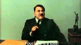 Günsche tells Hitler a joke