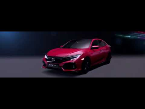 Honda  Civic 5d  Хетчбек класса B - рекламное видео 5