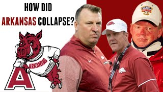 How Arkansas Razorbacks Football Collapsed