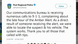 Police Disappointed With Amber Alert Complaints