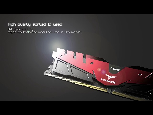 RAM DDR4 8GB (1x8) 2666MHz Teamgroup T-FORCE Dark Grey HS