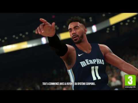 NBA 2K18  - Premier trailer autour des améliorations de NBA 2K18
