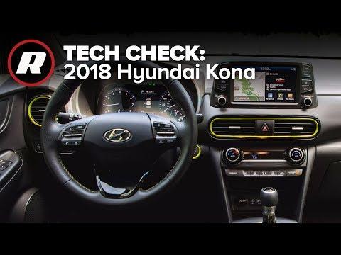 Tech Check: Inside the 2018 Hyundai Kona