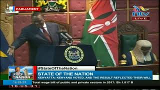 Uhuru gives State of the Nation Address
