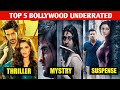 Top 5 Bollywood Underrated Masterpiece movies | top class Crime Thriller movies | FilmyZone