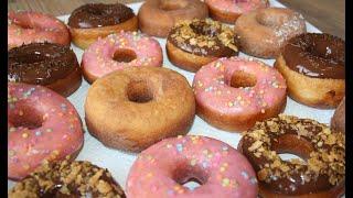 Вкуснейшие Пончики / Донатсы / Пышки!
