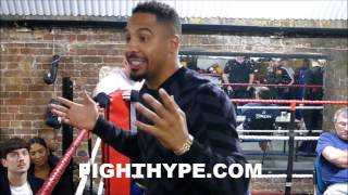 "ANDRE WARD OPENS UP ABOUT ROY JONES JR. STILL FIGHTING: ""IT"
