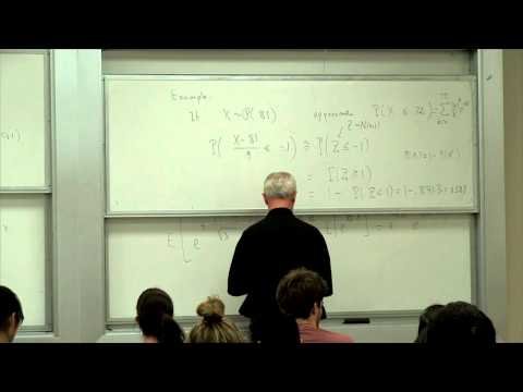 Introduction to Probability and Statistics 131A. Lecture 11. Estimation of Parameters