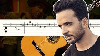 Despacito / Luis Fonsi / Daddy Yankee / Guitarra Tutorial / Tablatura