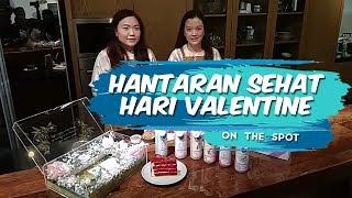 On The Spot: Susu Almond Panggang, Hantaran Sehat untuk Hari Valentine