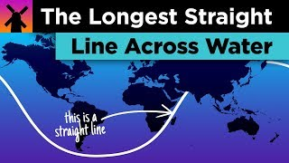 What's the Longest Straight Line You Can Sail Without Touching Land? thumbnail