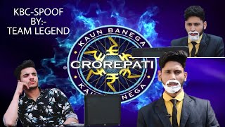 KBC ।। Spoof ।। By:- TEAM LEGEND ।। With SASTA AMITABH BACHCHAN ।। FULL COMEDY VIDEO