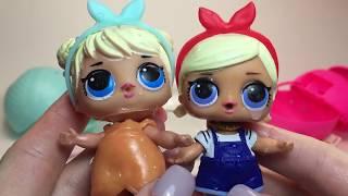 КИТАЙСКАЯ Подделка Кукла ЛОЛ в Шаре LOL  против Оригинальной ЛОЛ. Fake LOL Surprise Doll