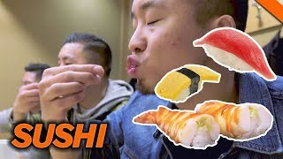 EATING THE BEST SUSHI IN TOKYO, JAPAN // Fung Bros 2017 World Tour | Kholo.pk