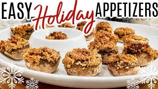 EASY HOLIDAY APPETIZERS | THANKSGIVING RECIPES | Cook Clean And Repeat