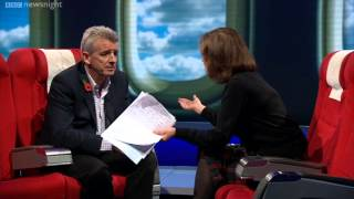 NEWSNIGHT: Ryanair boss defends the company's controversial practices