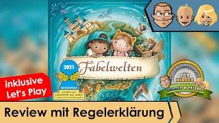 Fabelwelten -  (nominiert zum Kinderpiel des Jahres 2021) - Review mit Regelerklärung und Let's Play