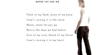 Dima Bilan - Never Let You Go (Lyrics)