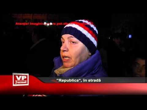 """""""Republica"""", in strada"""