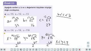 Eğitim Vadisi TYT Matematik 15.Föy Köklü Sayılar 1 Konu Anlatım Videoları