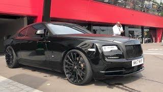 My New 2017 Black Rolls Royce Wraith on Forgiato