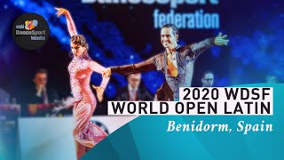 2020 WDSF World Open Latin Benidorm | DanceSportTotal