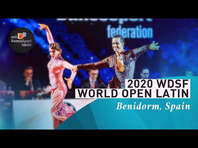 2020 WDSF World Open Latin Benidorm | DanceSportTotal